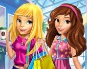 Школьные прогульщики в торговом центре
