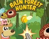 Охотник в дождевом лесу