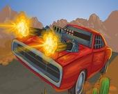 Битва на дороге: Автомобильная игра 2D