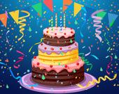 Именинный торт: Пазл