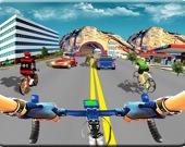 Настоящая гоночная игра на велосипеде 3D