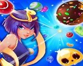 Мультяшные конфеты 3 в ряд