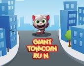 Гигантский Том: бег за монетами
