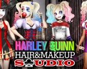 Харли Квинн и студия макияжа