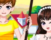 Романтическая Весенняя Пара