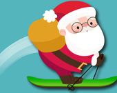 Лавина: Лыжи Санты на Рождество