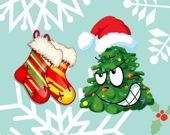 Веселое Рождество: Раскраска