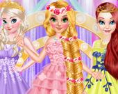 Выпускной длинноволосой принцессой