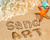 Картины из песка