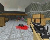 Пиксельный апокалипсис: Отстрел зомби в саду