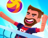 Волейбольная игра головами монстров