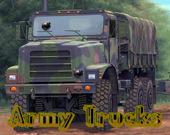 Армейские грузовики Поиск предметов