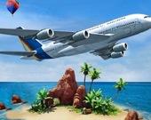 Симулятор аэроплана - Путешествие на остров