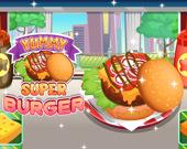 Вкусняшный супербургер