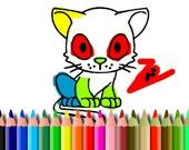 Раскраска: Кот