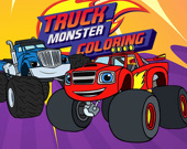 Раскраска: Monster Truck
