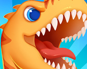 Бегущий тираннозавр