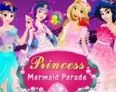 Парад принцессы русалки