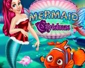 Рождество русалки Ариэль