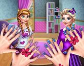 Принцессы: Маникюрный салон