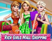 Богатенькие Дамочки: Покупки в Торговом Центре