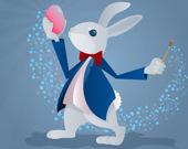 Раскраски забавные кролики