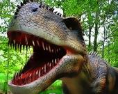 Пазл Страшные зубы динозавра