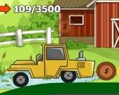 Восхождение трактора 2D