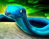 Головоломка с змеей 3D