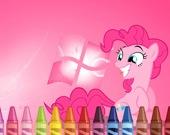 Мой маленький пони 4 - Раскраска