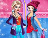 Принцесса: Зимние развлечения