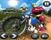 Гонки на мотоциклах по бездорожью 3D
