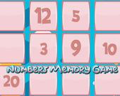 Игра на память с числами