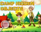 Скрытые предметы в лагере