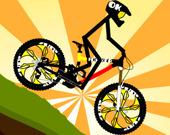 Велосипедист Стикмен