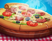 Готовка пиццы: игра в пиццерию