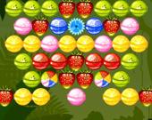 Бабл шутер: Фруктовые сладости