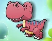 Мультяшные динозавры - Мемори
