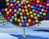 Колесо рождественских шаров