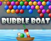 Лодка с пузырями