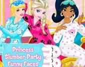 Трущобная Вечеринка Принцессы: Смешные Лица