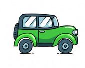 Мультяшные автомобили: найдите разницу