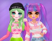 Девушки Soft-girl и e-girl
