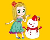 Принцесса и снеговик