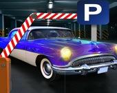 Парковка старого внедорожника