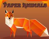 Бумажные животные - Найди пару