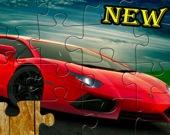 Спортивные автомобили - Пазл