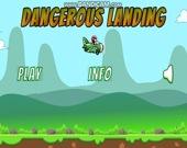 Опасное приземление