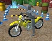 Парковка на мотоцикле 3D
