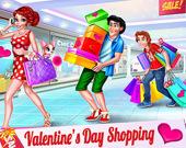 Покупки в Валентинов день